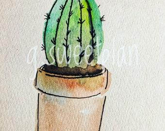 Cactus 2 digital print