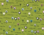 Road 15 City Park in Pickle, Sweetwater, Moda Fabrics, 100% Cotton Fabric, 5523 13