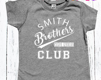 big brother sibling tee shirt pregnancy announcement for big brother to be or silbling matching tee shirt personalized with last name/yr