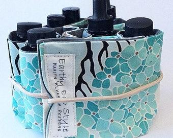 Asian Print Cherry Blossom Essential Oil Holder Lip Gloss Holder Makeup Holder