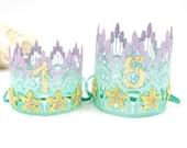 NEW Birthday Mermaid Starfish lace crown || Choose One || Remastered || Love Crush Exclusive