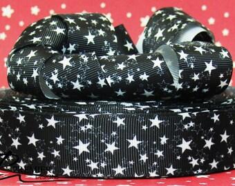 """1"""" Star Grosgrain Ribbon"""