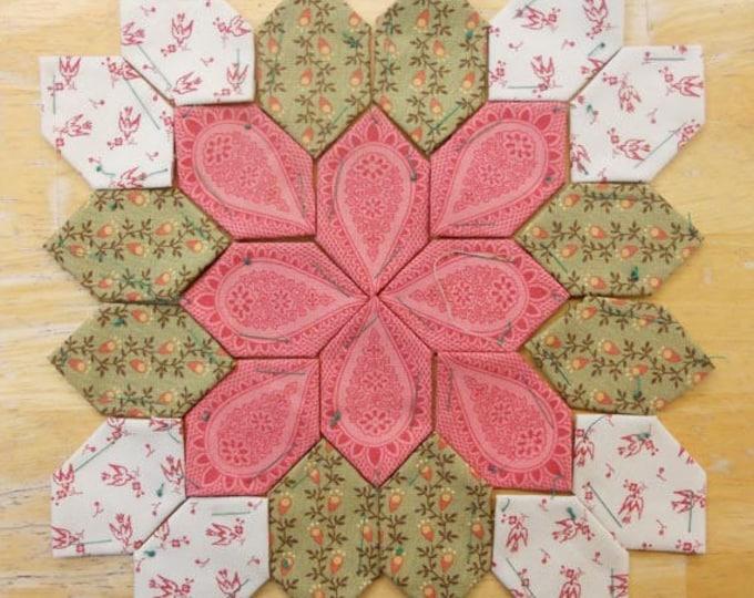 Lucy Boston Patchwork of the Crosses civil war block kit #5