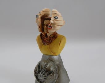 Total Recall inspired figurine