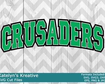 Crusaders Arched SVG Files