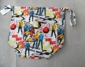 Large Reversible WIP bag, classic star trek