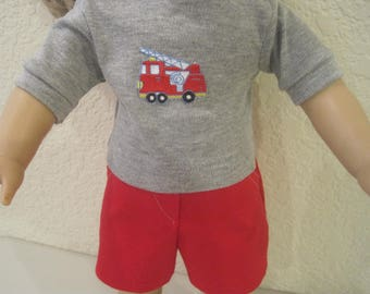 """18"""" doll boy doll clothes to fit American Girl dollsress to fit 18"""" dolls"""