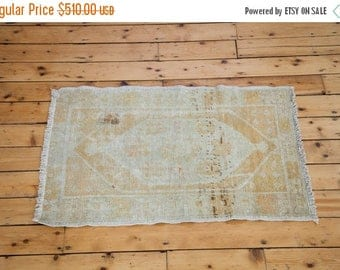 10% OFF RUGS DISCOUNTED 3x4 Distressed Oushak Square Rug