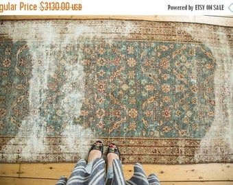 10% OFF RUGS 3.5x13.5 Antique Malayer Rug Runner