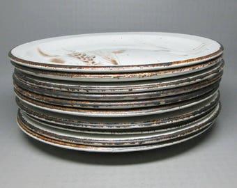Midwinter Wild Oats set of ten dinner plates  ( or buy 5 )