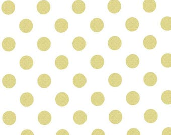 Gold Dot Changing Pad Cover, Girl Changing Cover, Gold Changing Pad, Baby Girl Nursery Bedding, Gold Baby Nursery Bedding, Metallic Gold Dot