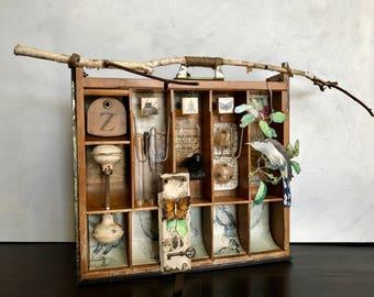 Assemblage Art, Nature In Art, Birds, Joseph Cornell