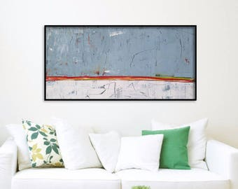 48x24 Inch Abstract Canvas Art. Abstract Canvas Painting. Large Wall Art Abstract Artwork Abstract Wall Art Abstract Painting Large Painting