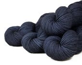 "Compass Worsted ""Nor'easter"" 100% SW Merino Hand Dyed Yarn 200 yds"