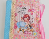 Cute Sewing Themed Retro Inspired Needle Book