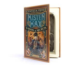 Mr Max Book of Secrets - Hollow Secret Storage Book Safe