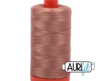 Aurifil Italian Threads-100% Cotton 40wt Piecing and Applique-Large Spool 1092 Yards-2340 Cafe au Lait