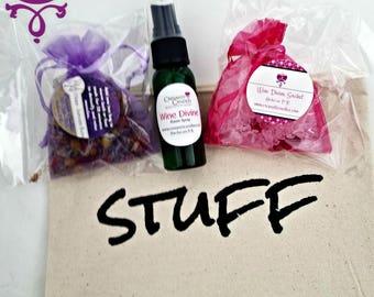 "Wine Divine Goodie Bag ""Stuff"""