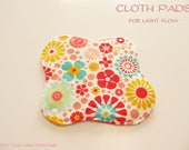 100% Cotton Flannel Prints Cloth Pad  For Light Flow  -So Happy Together-