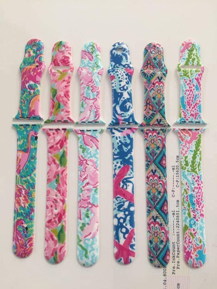 lilly apple watch band 38 mm