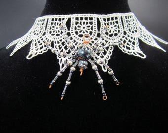 Spider web choker