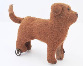 Antique Primitive Toy Dog, Antique straw stuffed, Antique Dog, Primitives Antiques, Mohair straw stuffed animal, Country Antiques