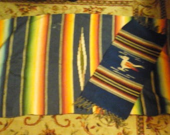 2 vintage native American embroidery