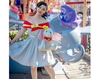RESERVED ORDER--- Dumbo inspired dress