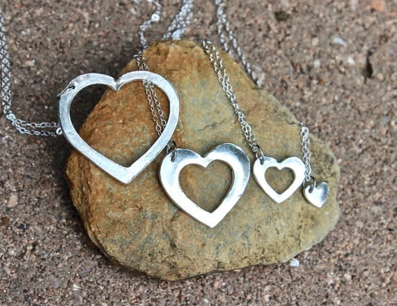 Heart Puzzle necklaces, Mother Daughter Jewelry, Puzzle Heart Charms, Mother Daughters Jewelry, Puzzle Heart Jewelry, Puzzle Charms Necklace