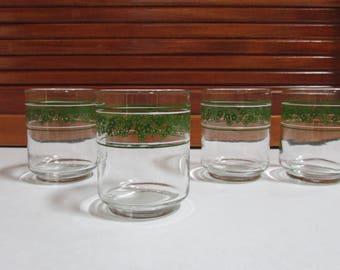 Spring Blossom Juice Glasses Set of 4