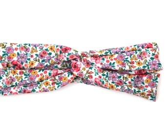 "Floral Headband Matching Dog Collar ""Doggie and Me"" Matching Set"