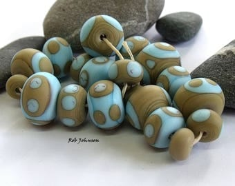 Victorian Play, Lampwork Beads, SRA, UK