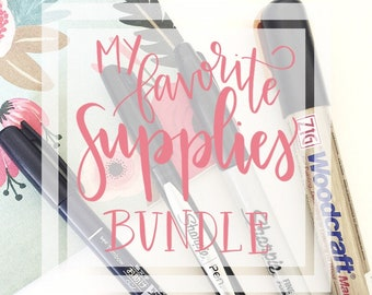 Laurel's Lettering Favorite Supplies Bundle