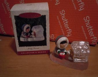 Keepsake Ornament Hallmark 1993 Frosty Friends
