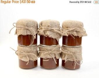 SALE 15% Off Ends Sunday 175 Rustic Mini Mason Jar Favors