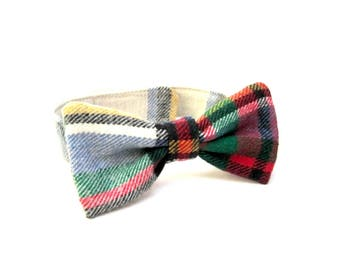 Boy's Bow Tie, Plaid Bow Tie, Toddler Bow Tie, Infant Bow Tie, Childs Bow Tie, Bow Ties, Made in USA, Under 15 Dollars, Ready To Ship
