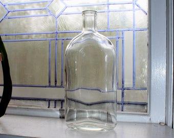 antique pyrex bottle circa 1910s bathroom decor