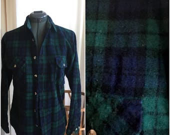 Vintage Wool Flannel
