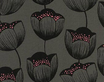 RAYON - Cotton + Steel - Sarah Watts - Magic Forest - Magic Tulips Grey