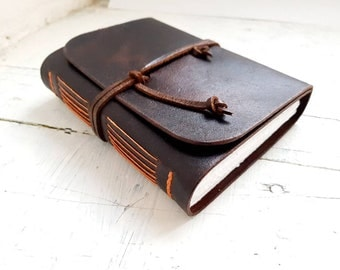 Leather Journal, leather notebook, leather sketchbook, leather travel Journal, journal, diary, leather diary