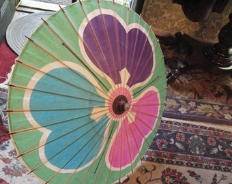 Beautiful Vintage Paper Parasol