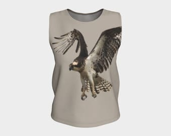 Stylish Osprey Tank Top for the bird lover