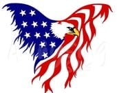 75% OFF SVG - Eagle Flag - Patriotic - 4th of July svg - Memorial Day svg - Military svg- Red White Blue - American Flag - Eagle svg - Tshir