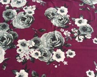 dana double brushed poly fabric