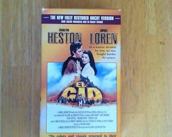 El Cid (VHS, 1999, 2-Tape Set, Restored / Uncut Version)