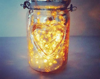 NW &Co, 6 Artisan Handpoured Tealights with Silver Mercury Glass Jar