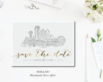 Dallas Scenes Save the Dates