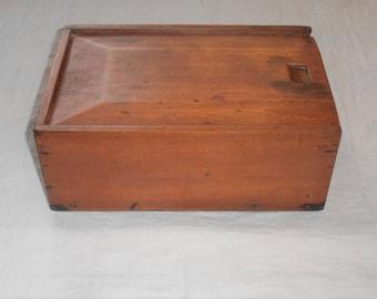 Antique Primitive Candle Box