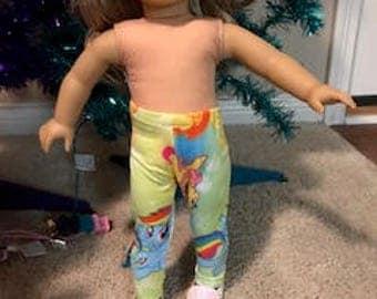 My Little Pony Leggings for 18 inch doll