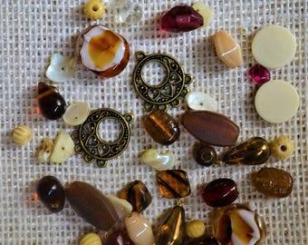 Vintage Topaz Beads